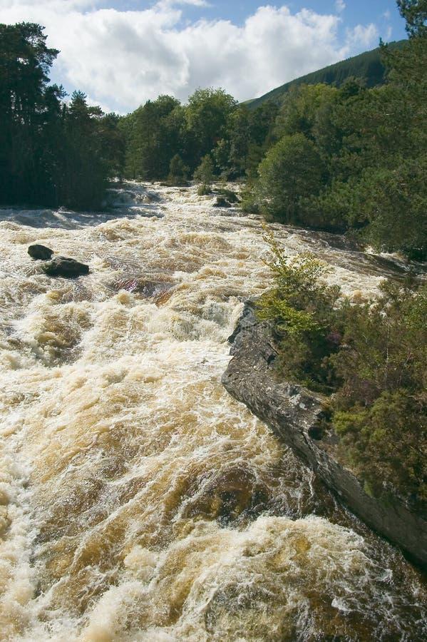 Falls of Dochart, Scotland stock image