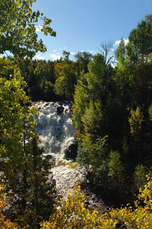 Falls At Eagle River Royalty Free Stock Images
