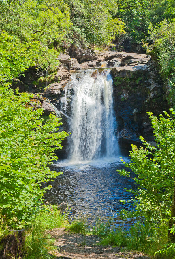 Falls of Falloch royalty free stock image