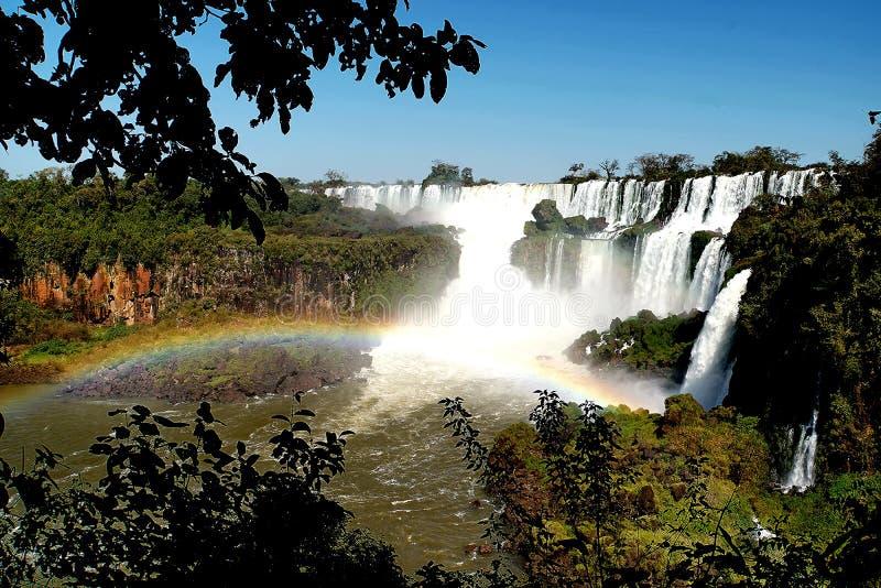 falls iguazu στοκ εικόνα