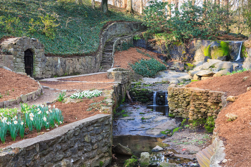 Falls park downtown greenville sc south carolina stock for Landscaping rocks greenville sc