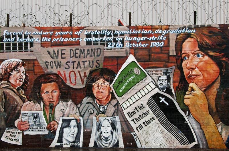 Download Falls Road POW Mural Editorial Photo - Image: 21803066