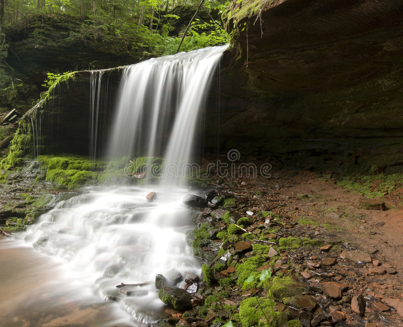 falls stracił creek obraz royalty free