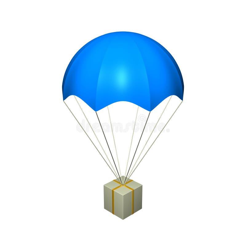 Fallschirm stock abbildung