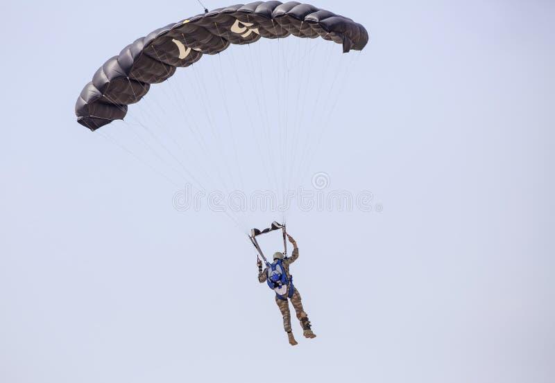 fallschirmjäger stockfoto