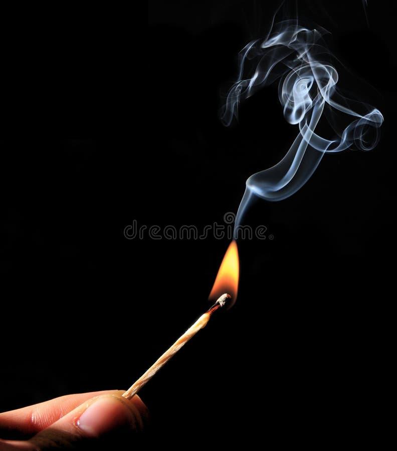 falme ogień obraz stock