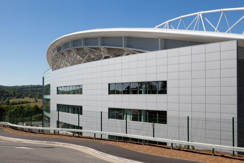 FALMER, SUSSEX/UK - 3 JUIN : Le football Clu de Brighton & Hove Albion image stock