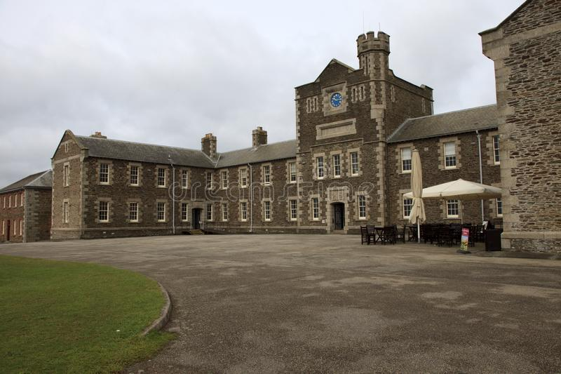 United Kingdom. Falmouth (England), UK - August 15, 2015: Pendennis castle, Falmouth, Cornwall, England, United Kingdom royalty free stock photography