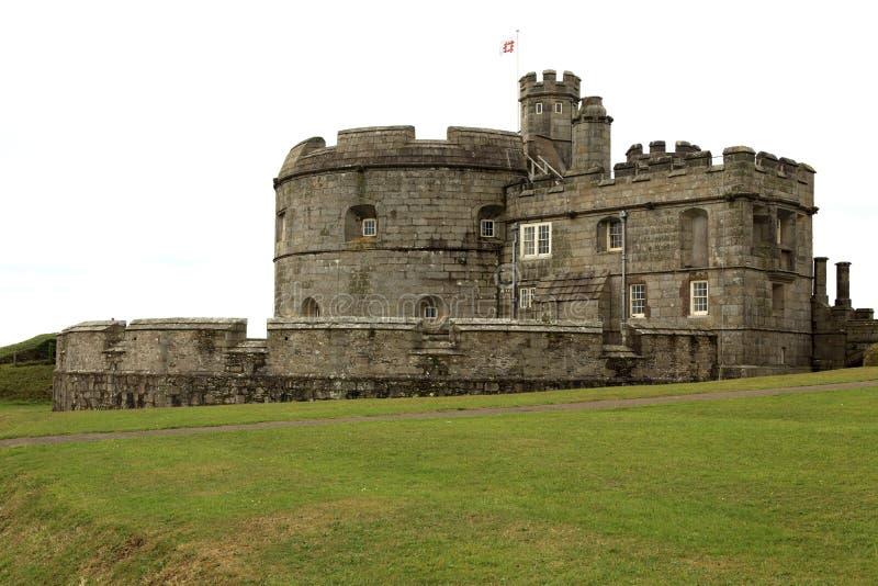 United Kingdom. Falmouth (England), UK - August 15, 2015: Pendennis castle, Falmouth, Cornwall, England, United Kingdom stock photos