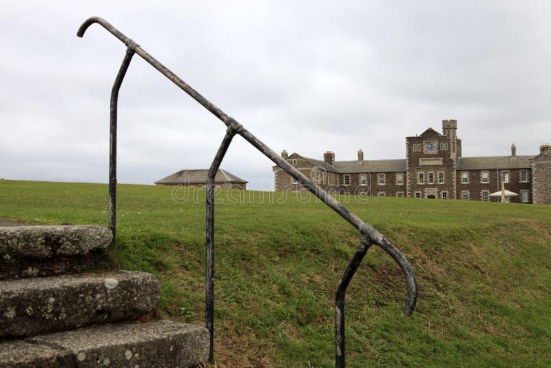 United Kingdom. Falmouth (England), UK - August 15, 2015: Pendennis castle park, Falmouth, Cornwall, England, United Kingdom stock photography
