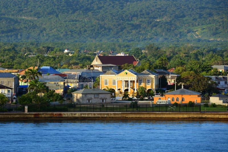 Falmouth-Gericht, Jamaika stockfotografie