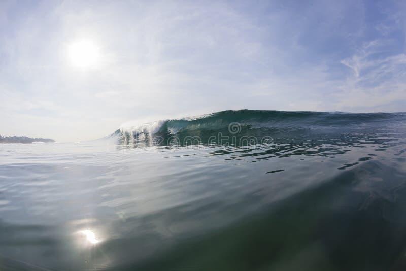 Falowa szkło woda fotografia stock