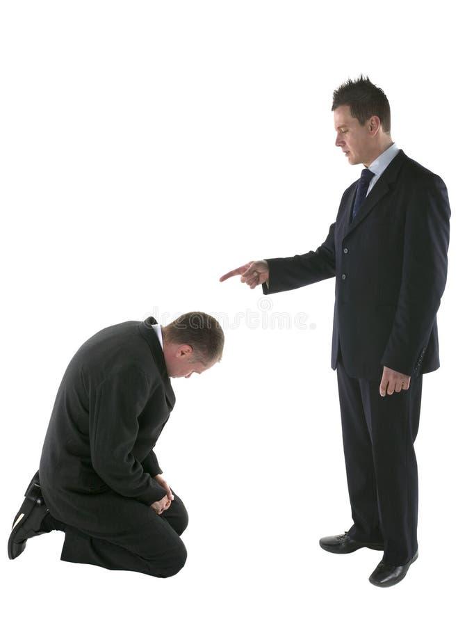 Falscher Angestellter lizenzfreie stockfotografie