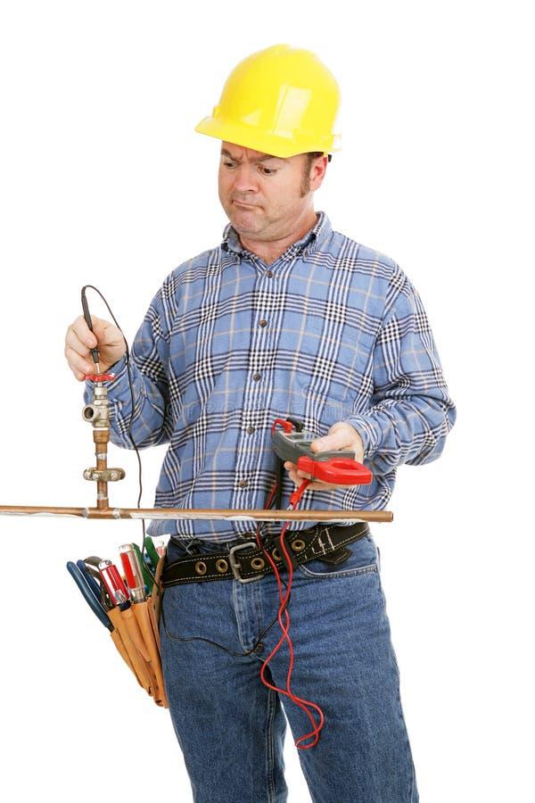 Falsches Hilfsmittel für den Job stockbilder