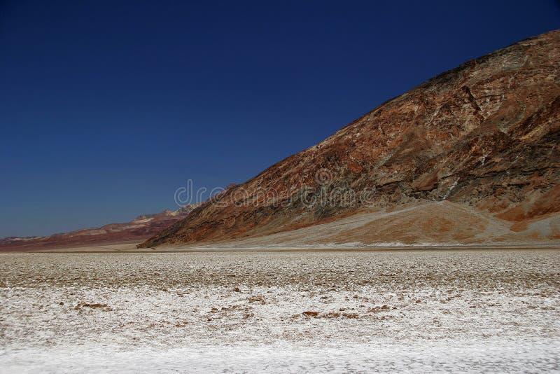 Falsches Wasser von Death Valley lizenzfreie stockfotos