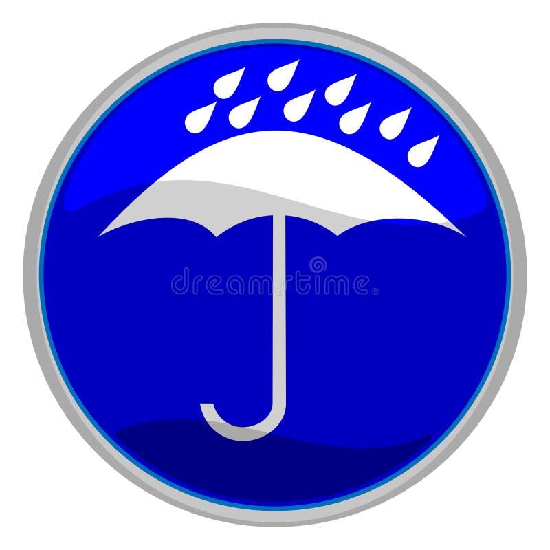 Falsches Wetter stock abbildung