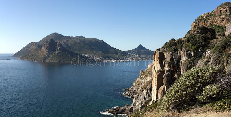 False Bay Panorama royalty free stock photography