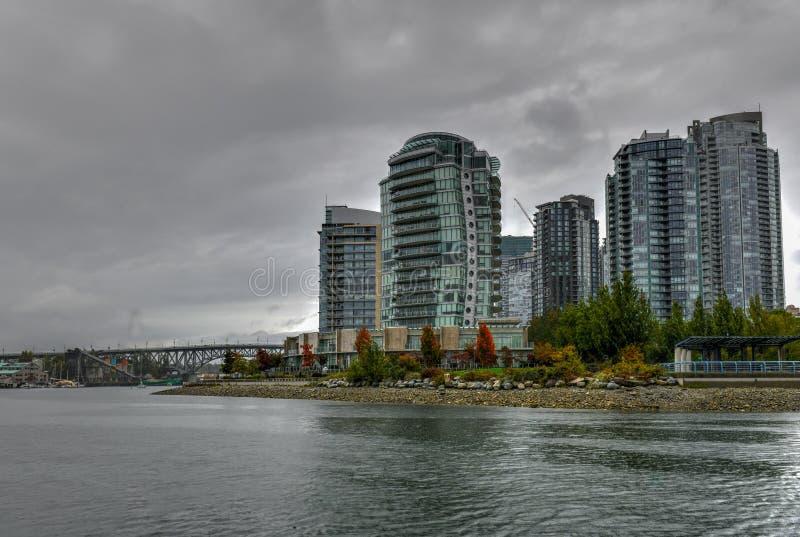 False Creek - Vancouver, Canada image libre de droits