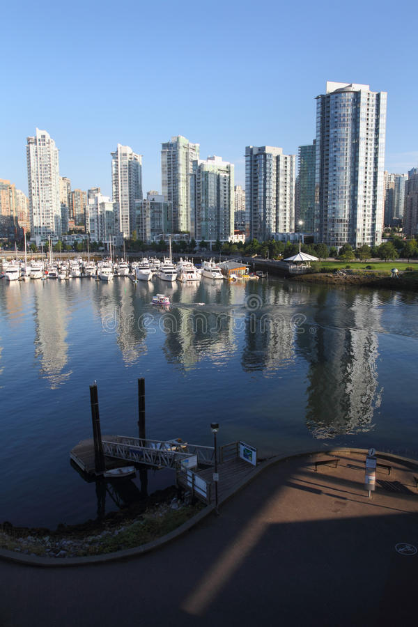 Free False Creek, Yaletown Reflections, Vancouver Royalty Free Stock Photos - 26344778