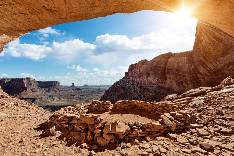 False Kiva, Utah royalty free stock images
