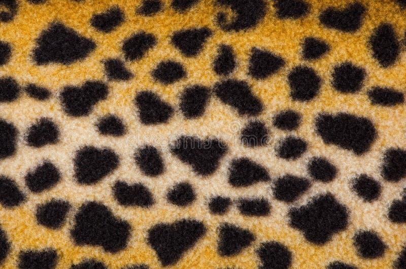 False leopard skin spots royalty free stock photos