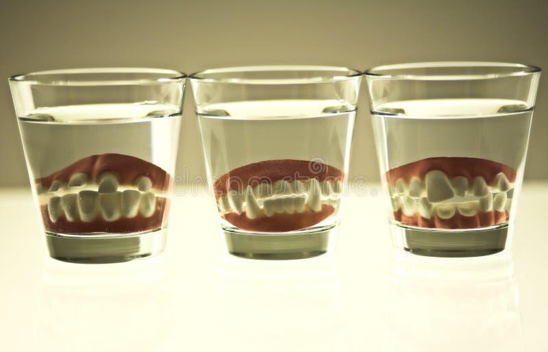 False Teeth Royalty Free Stock Image