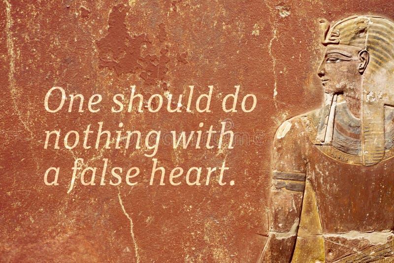 Falsk hjärta royaltyfria bilder