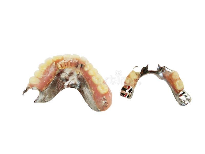 falska tänder arkivbilder