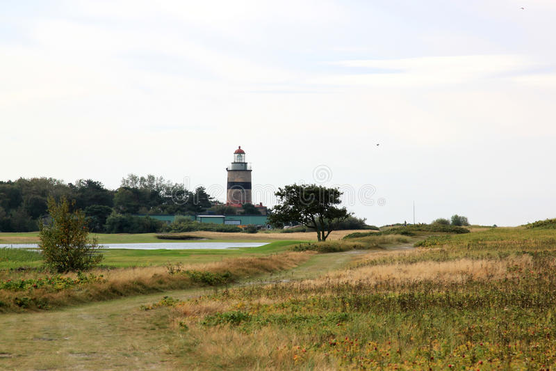 Falsterbo Lighthouse, Sweden stock image