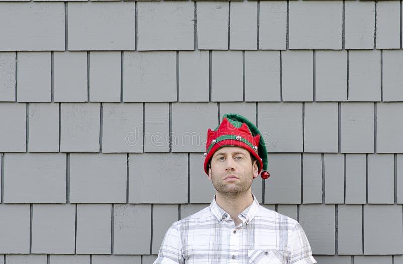Falta de alegría de la Navidad imagen de archivo