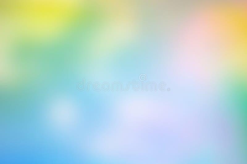 Falta de definición abstracta de-enfocada coloreada multi colorida de la foto foto de archivo