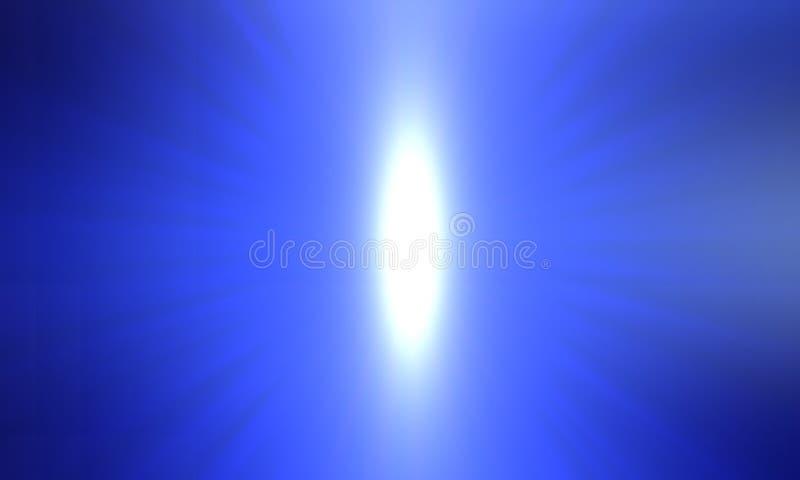 Falta de definición azul abstracta y papel pintado del fondo que brilla intensamente ejemplo vivo del vector del color libre illustration