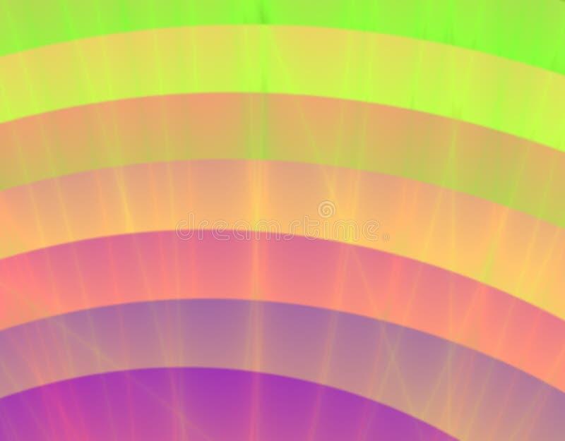 Falta de definición colorida ilustración del vector