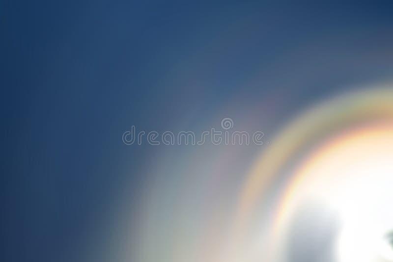 Falta de definición de la vuelta del fondo del extracto de la pendiente del arco iris imágenes de archivo libres de regalías