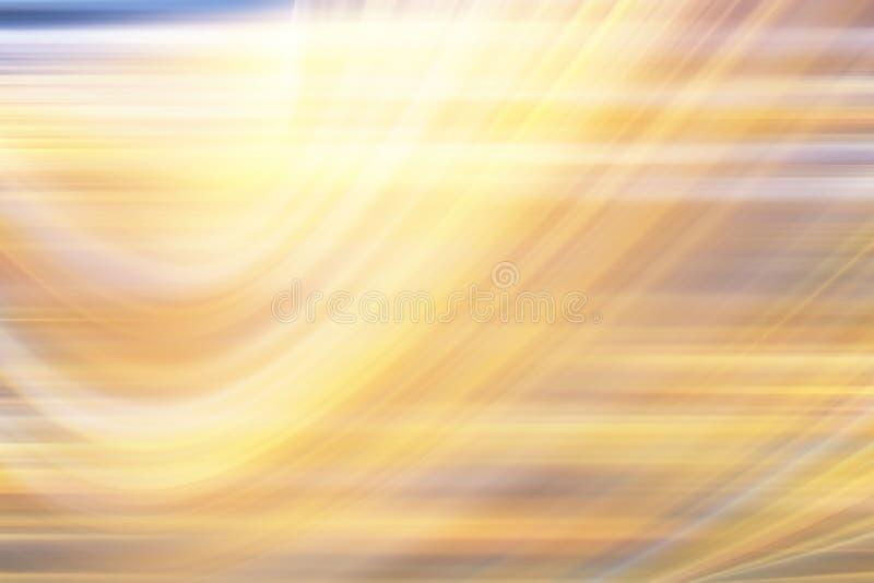 Falta de definición de movimiento amarilla del fondo libre illustration