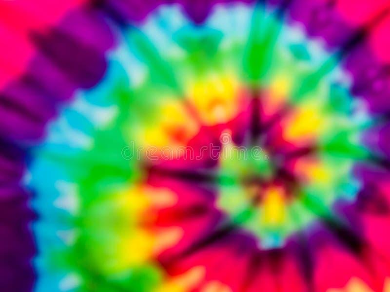 Falta de definición del arco iris del tinte del lazo imagen de archivo