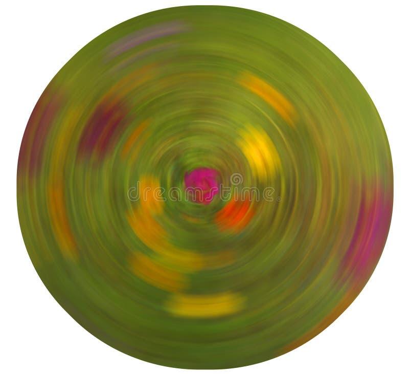 Falta de definición radial abstracta en el fondo blanco fotos de archivo