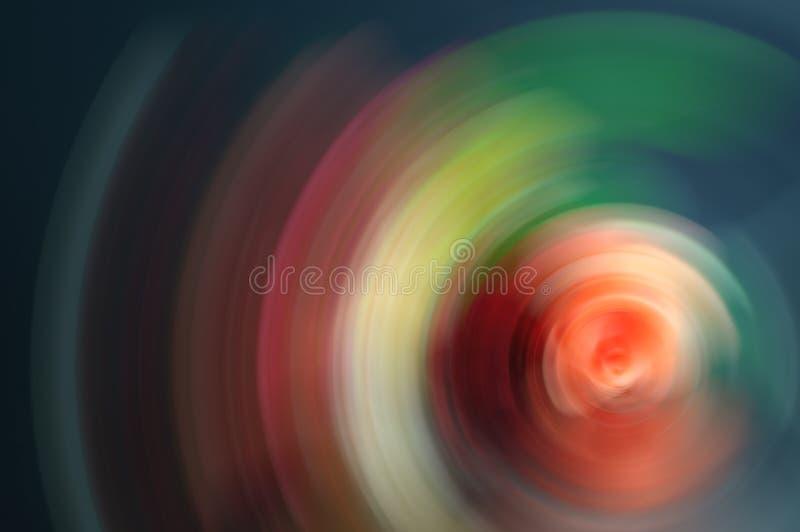 Falta de definición radial del fondo abstracto multicolor imágenes de archivo libres de regalías