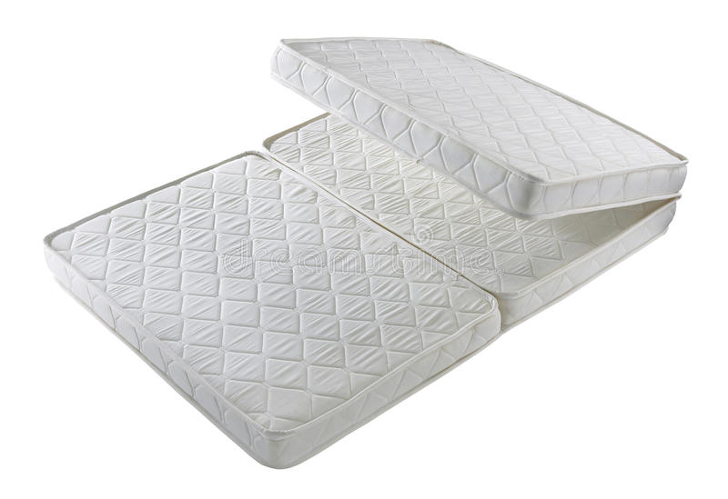faltbare matratze stockbild bild von getrennt zeitgen ssisch 63399007. Black Bedroom Furniture Sets. Home Design Ideas