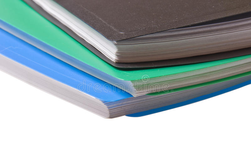 Faltblätter für Papier stockfoto