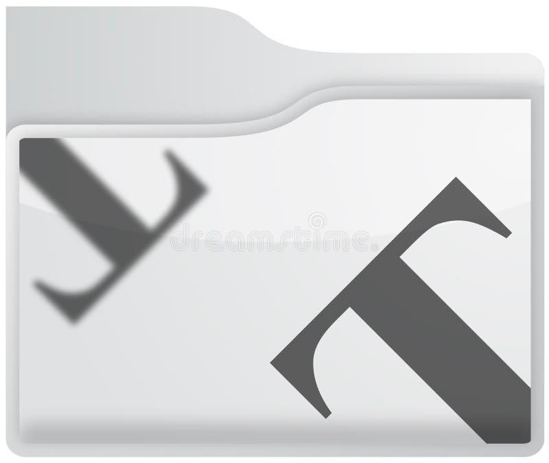 Faltblattikone lizenzfreie abbildung