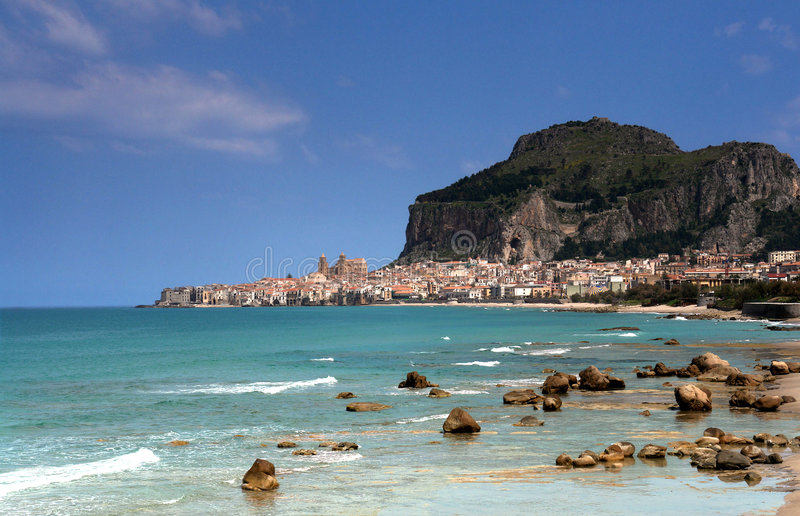 falu Сицилия c стоковые изображения