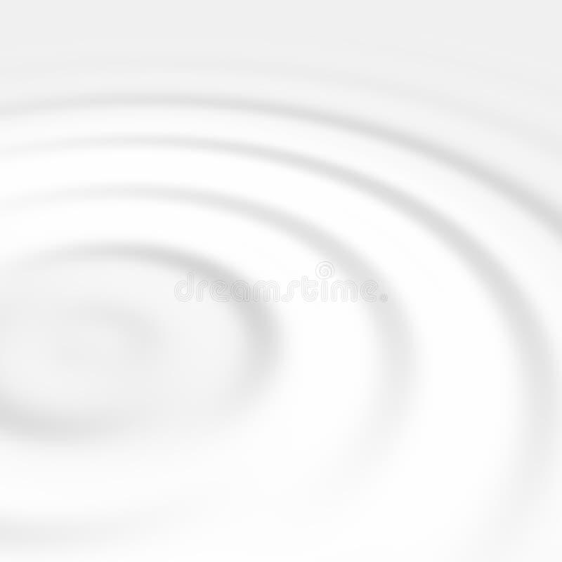 falujące cieczy white ilustracja wektor