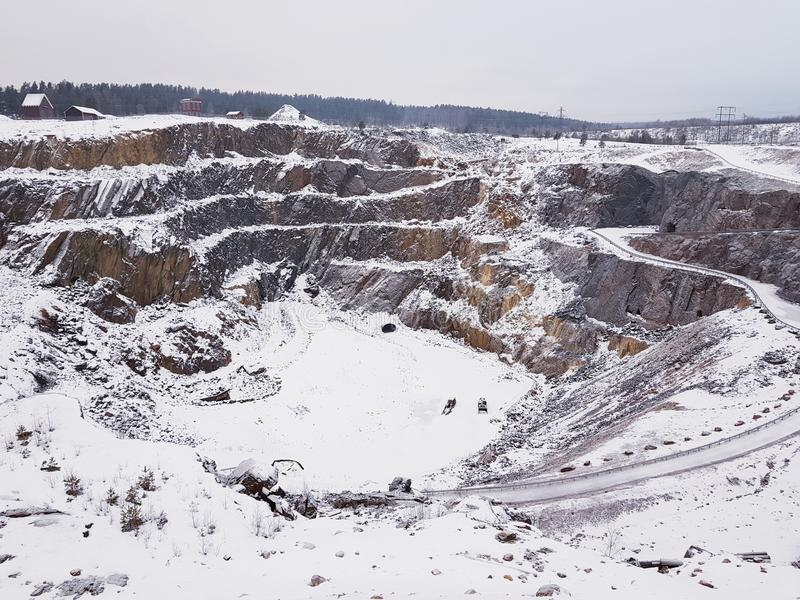 Falun mine royalty free stock images