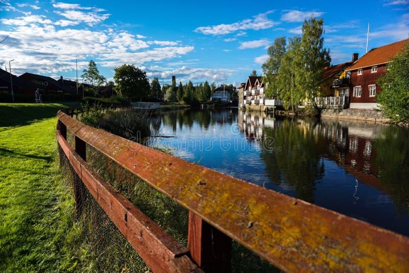 Falun Sverige arkivfoton