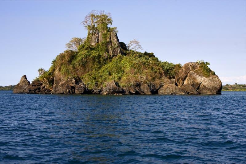 Faly bemoeiziek eiland stock afbeelding