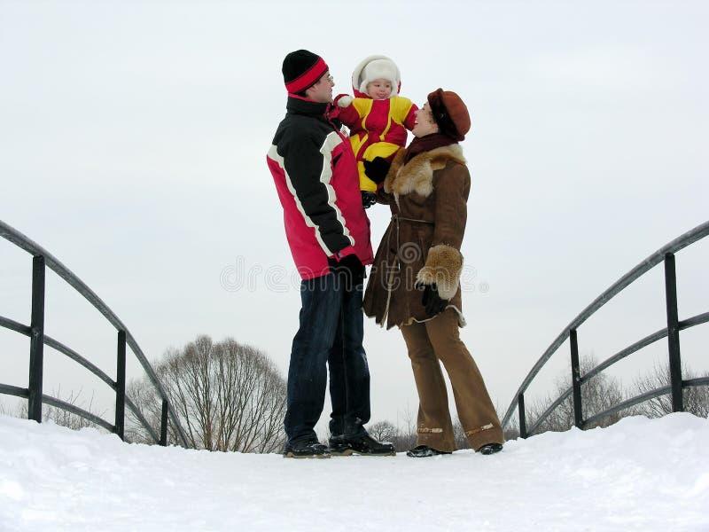 Download Família com bebê imagem de stock. Imagem de adorable, acoplamento - 526399