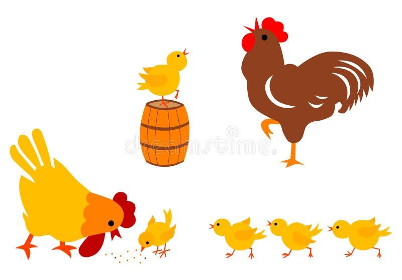Família da galinha