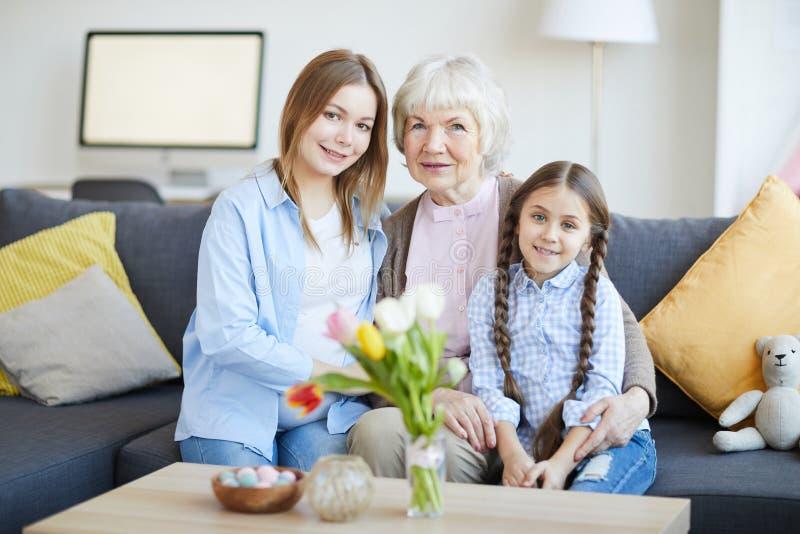 A família das mulheres foto de stock royalty free