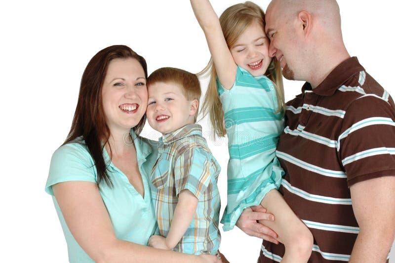 Família de Loveing foto de stock